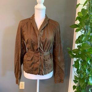 J.Crew Brown Jacket~Size Small